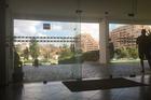 Lobby met mooi uitzicht