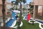 Zwembaden in het hotel