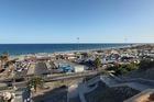 Uitzicht vanaf het zonneterras van het hotel