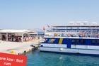 douane en boot naar Bodrum Turkije