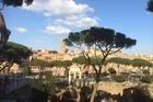 Uitzicht vanaf Piazza Venetia