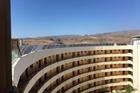 Uitzicht op het dak