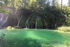Plitvice watervallen, betoverende plek