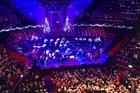Christmas sing along in Royal Albert Hall