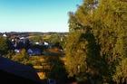 uitzicht vanuit het huisjet