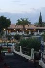 Dineren in het restaurant Al Farel bij het zwemparadijs.
