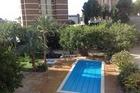 Tuin vanaf balkon