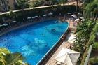 Zwembad vanuit balkon