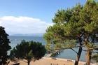uitzicht vanaf terras restaurant Bella Italia