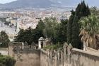 Uitzicht vanaf Castillo de Gibralfaro in Malaga