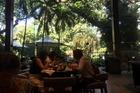 Restaurant aan zwembad/tuinzijde