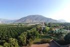 Uitzicht van 3de etage hotel.