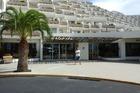 Hotel Calypso trapsgewijs gebouwd