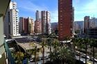 Uitzicht Paraiso Centro met rechts het al jaren in aanbouw zijnde culturele centrum.