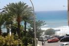 uitzicht vanaf het balcon