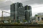 Het hotel is 10 minuten lopen van het Centraal Station, maar van de treinen heb je geen last!