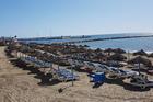 Strand bij Puerto Azul
