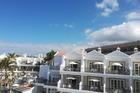 Uitzicht balkon rechts