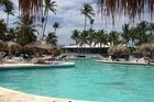 een van de vele zwembaden