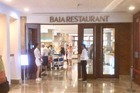 Ingang buffetrestaurant