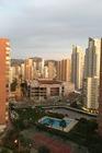 De uitzicht vanaf het balkon 11de verdieping