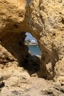 Mooie rotsen nabij het strand