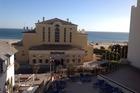 Ons uitzicht vanaf ons balkon van Algarve Mor