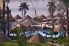 Gezicht op de Nijl  vanuit hotelkamer.