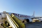 Vliegtuig op Faro CS-TQU (EuroAtlantic Airways)