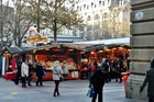 De kerstmarkt .