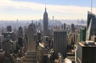New York vanaf Top of the Rocks (Rockerfeller Centre)