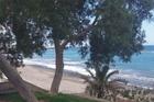 Doorzicht naar t strand