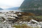 einde van de fjord