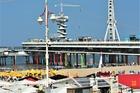 Zicht op de Pier .