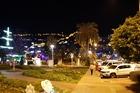 de haven bij avond