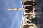 Binnenplein Blauwe moskee