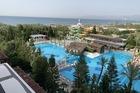 het resort gezien van de 4e verdieping