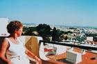 Uitzicht op Albufeira .