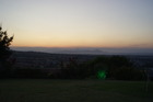 uitzicht vanaf restaurant Lofaki