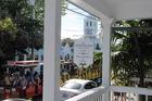 Duval Street met Conch Train en oudste huisje