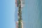 Uitzicht vanaf de pier