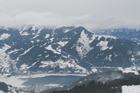 Zell am See vanaf de skipiste gezien