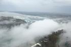 slecht weer Niagara Falls