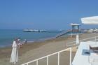 Strand bij hotel Rixos Premium Belek.