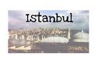 Zelfgemaakte foto bij de Suleymaniye Moskee.