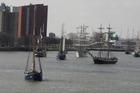 Vlootschouw op de Maas .