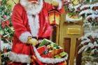 Kerstwens van de kerstman .