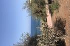 Doorkijk naar t strand