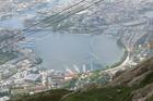 uitzicht vanaf Ulrike
