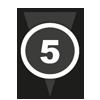 N, windkracht: 5